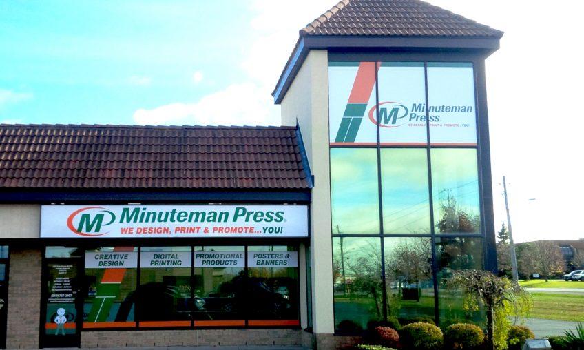 Minuteman Press, Guelph, Ontario, Canada Storefront http://www.minutemanpressfranchise.ca