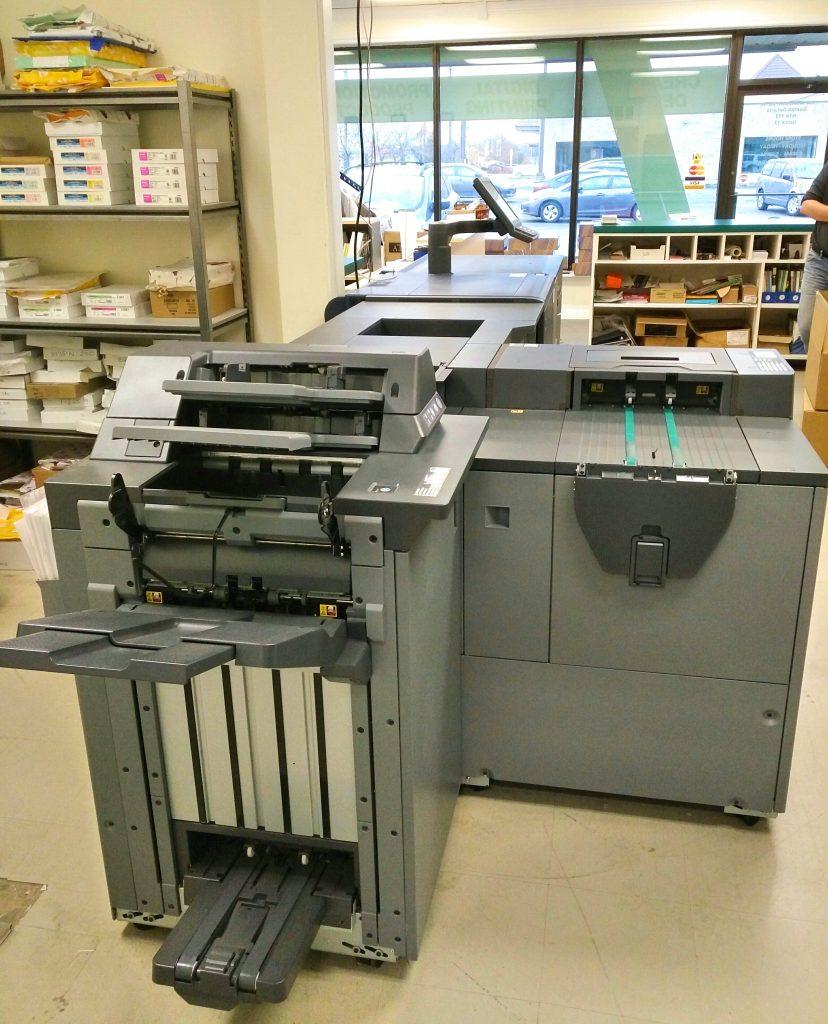 Minuteman Press Guelph, Ontario production area. https://minutemanpressfranchise.ca