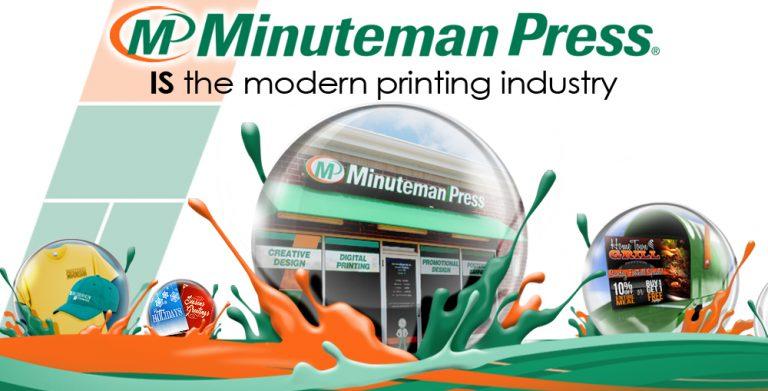 At Minuteman Press International, We Are The Modern Printing Industry. www.minutemanpressfranchise.ca